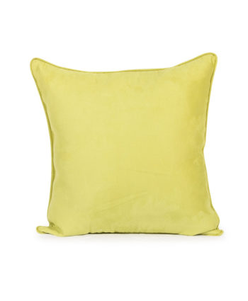 Lime Green Velvet Pillow - A Chair Affair Rentals