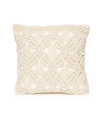Macrame Pillow - A Chair Affair Rentals