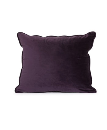Purple Velvet Pillow - A Chair Affair Rentals