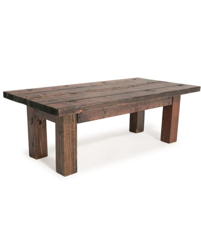 Rustic Farm Coffee Table – A Chair Affair Rentals