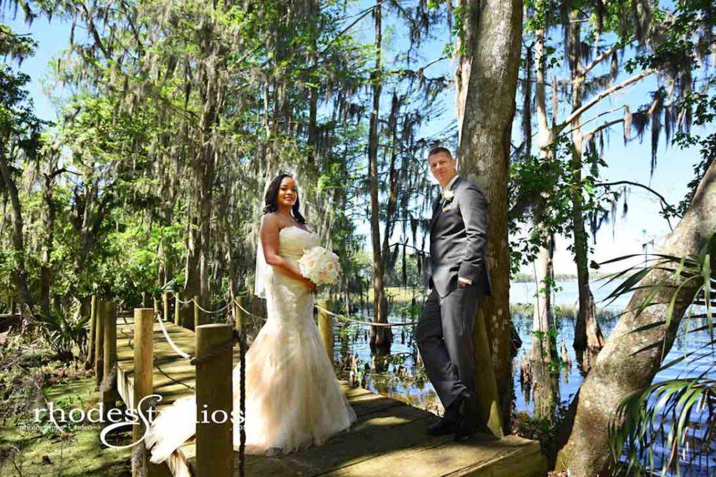 Classic Mission Inn Resort Wedding Bride and Groom