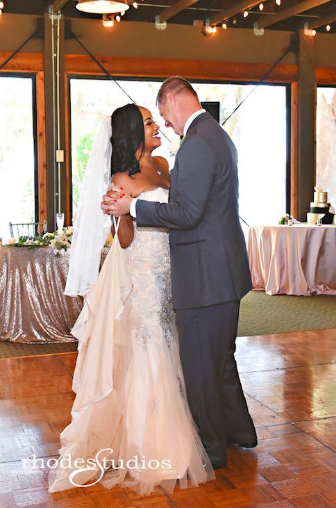 Classic Mission Inn Resort Wedding First Dance