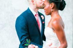 Casa Feliz Intimate Rose Gold Wedding