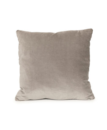 Silver Velvet Pillow - A Chair Affair Rentals