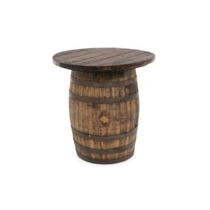 The Round Wine - Whiskey Barrel Topper - A Chair Affair Rentals
