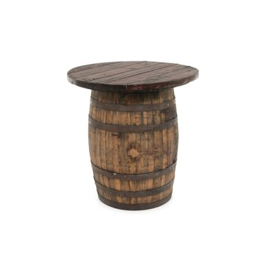 The Round Wine – Whiskey Barrel Topper