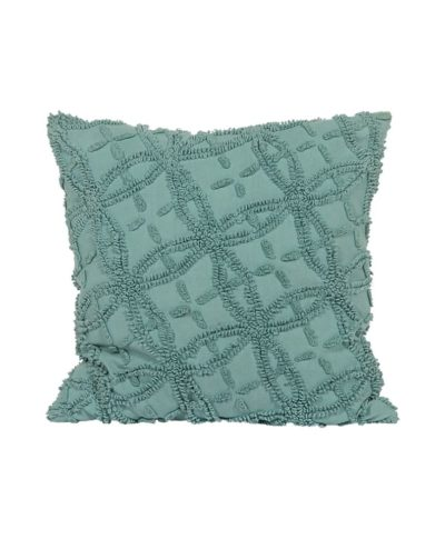 Vintage Blue Chenille Pillow – A Chair Affair Rentals