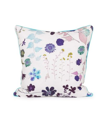 White Floral Pillow – A Chair Affair Rentals