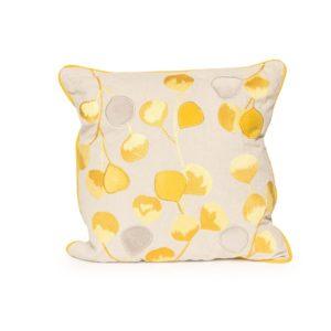 Yellow Bloom Pillow - A Chair Affair Rentals