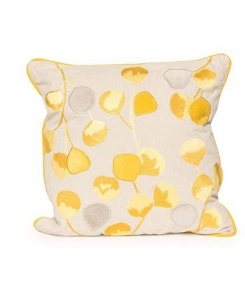 Yellow Bloom Pillow - A Chair Affair Rentals