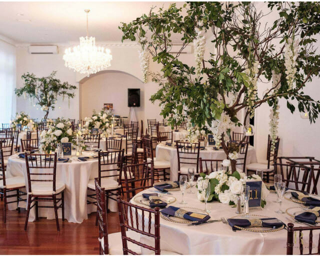 luxmore grande estates a chair affair reception chiavari chairs