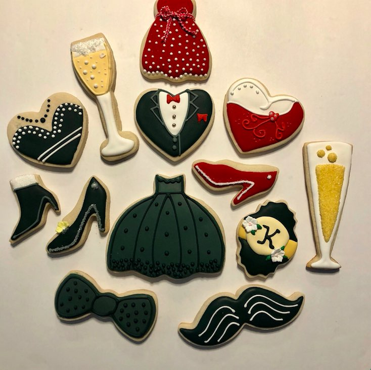The Artful Flour Custom Cookies