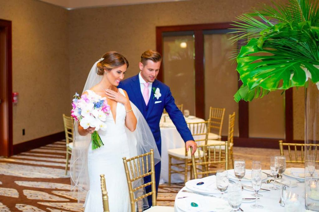 Villas at Grand Cypress elegant summer wedding