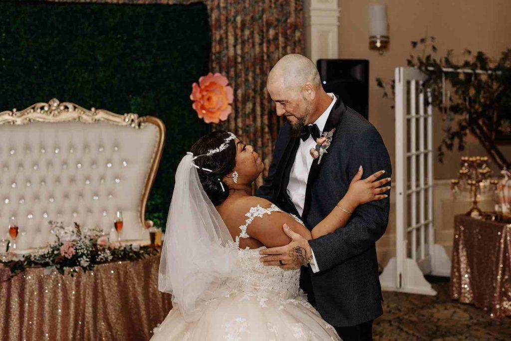 blush Leu Gardens wedding