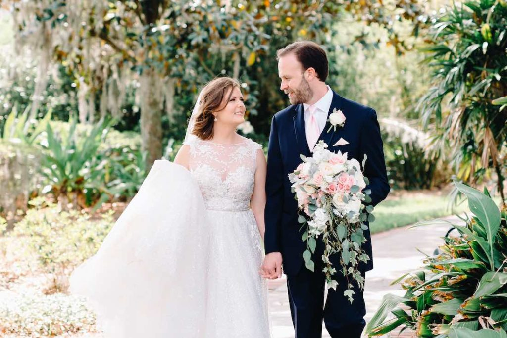 classic outdoor Cypress Grove Estate House wedding