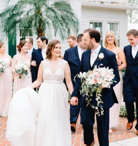 Cypress Grove Estate House Outdoor Wedding
