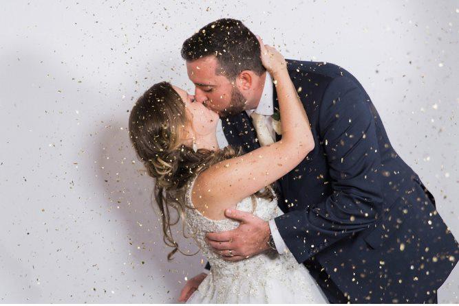 st pete beach community center wedding a chair affair confetti