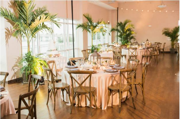 st pete beach community center wedding a chair affair french country chairs