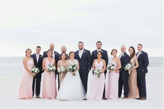 st pete beach community center wedding a chair affair party