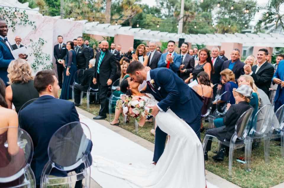 stylish vinoy renaissance wedding