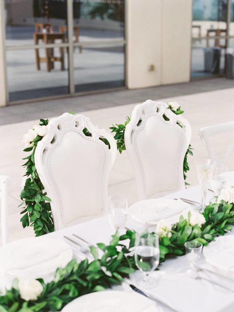 timeless Orlando wedding, specialty seating, specialty chairs