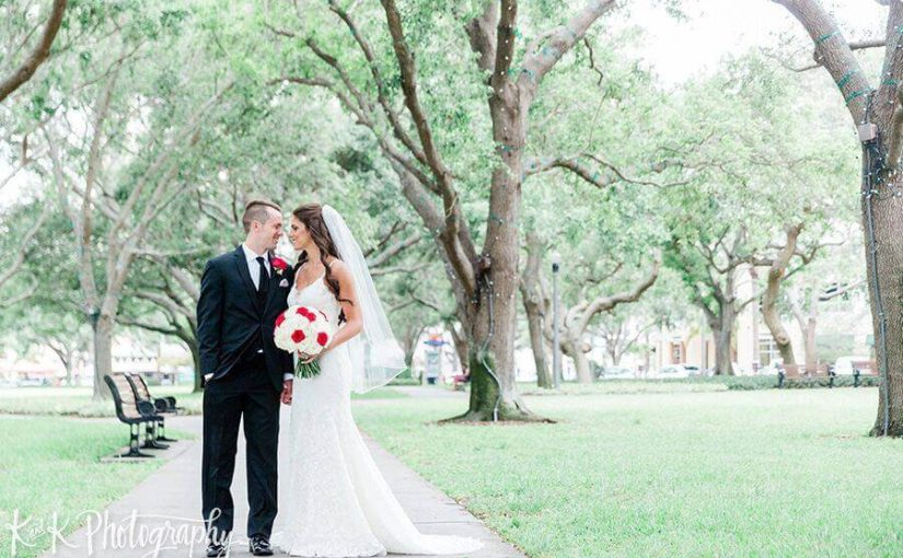 Bright Glamorous St. Petersburg Wedding