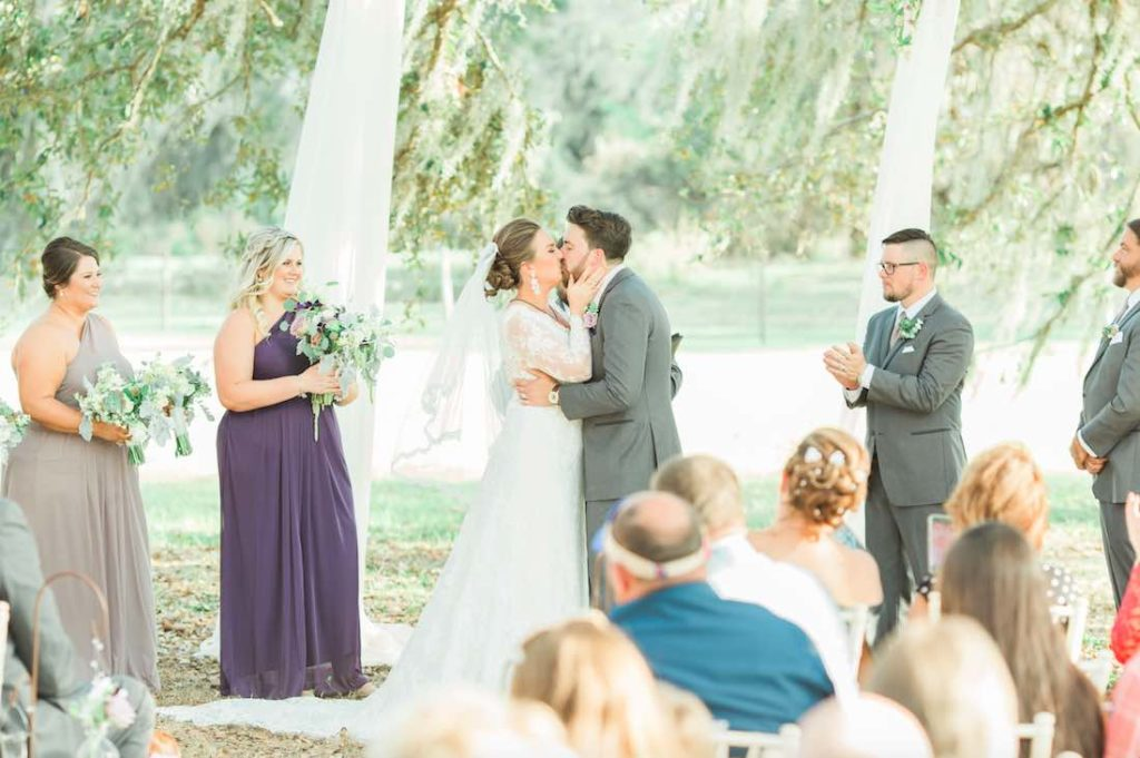 Torgersen Ranch Rustic White Wedding
