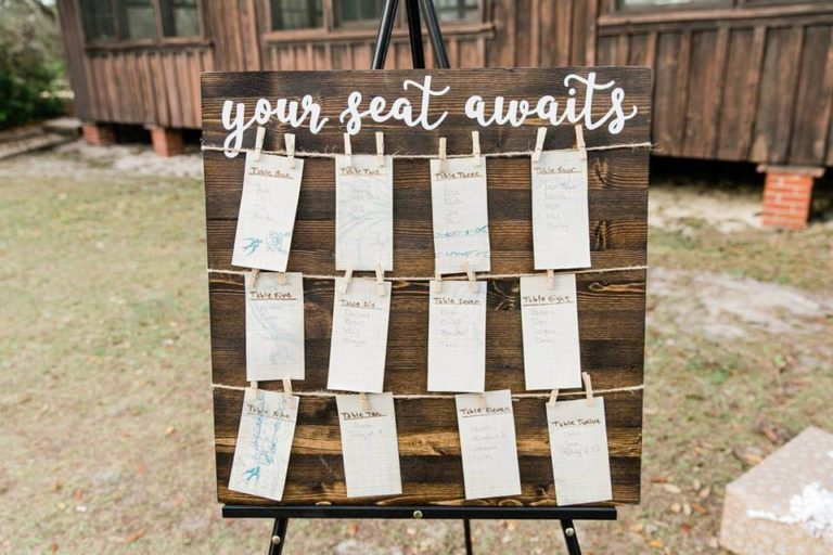 Vintage Florida Doe Lake Campground Wedding
