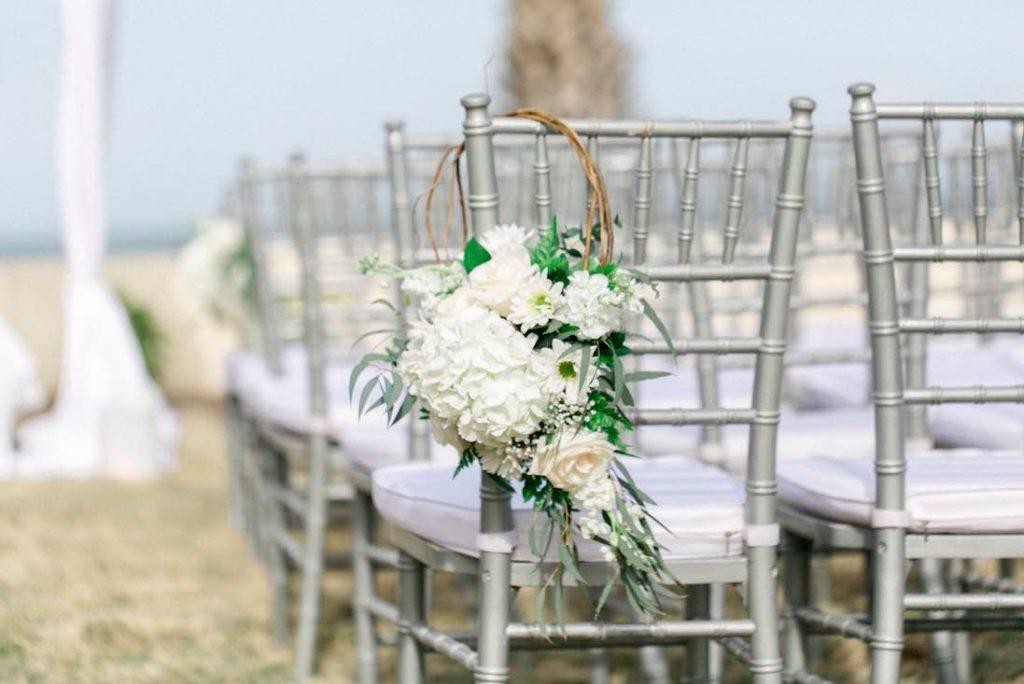 oceanfront Hammock Beach wedding