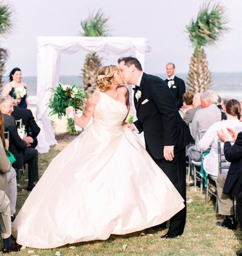 Hammock Beach Wedding at the Oceanfront