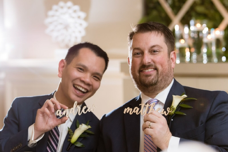Four Seasons Orlando intimate LGBT wedding