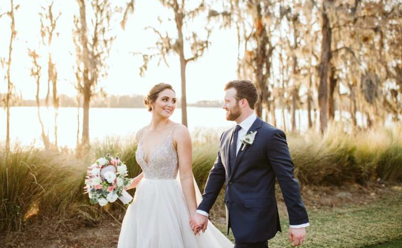 Pastel Isleworth Country Club Wedding