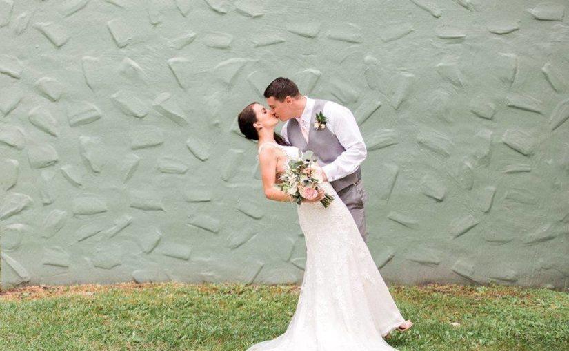 Blush and Gold Banyan Estate Wedding