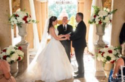 Bella Collina Grand Gold and Burgundy Wedding