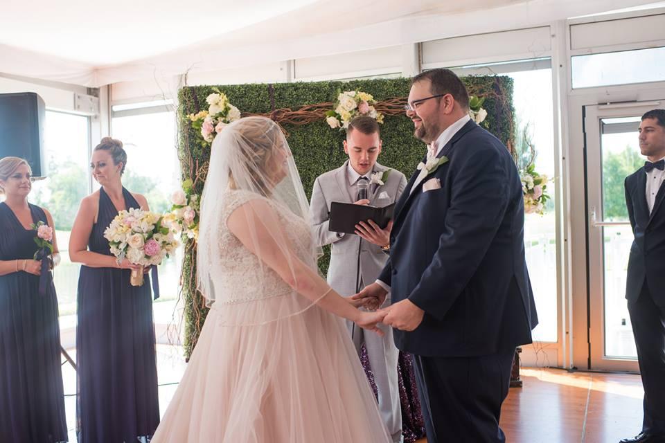 playful hilton orlando bonnet creek wedding a chair affair ceremony hedge walls