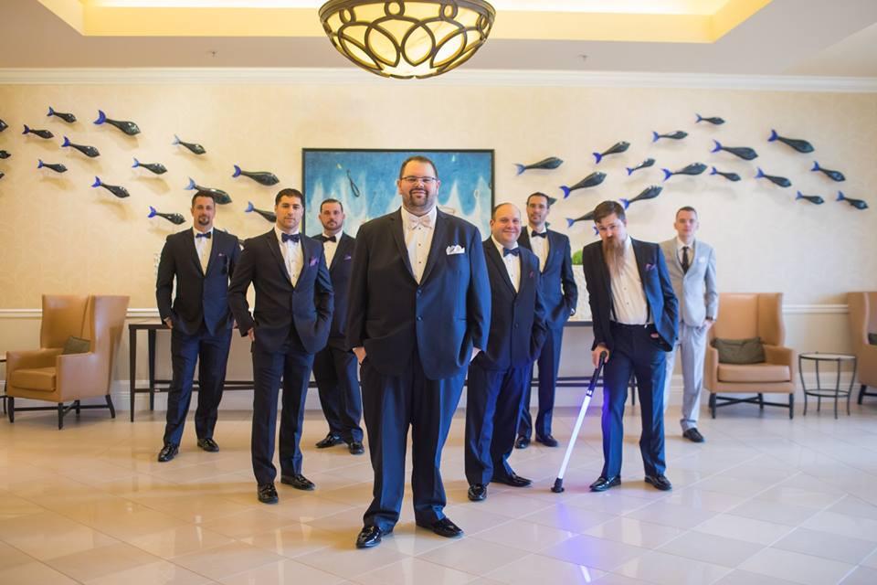 playful hilton orlando bonnet creek wedding a chair affair groomsmen