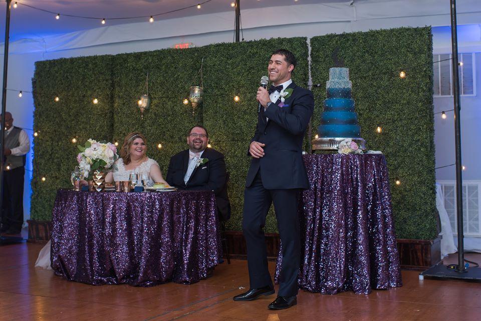playful hilton orlando bonnet creek wedding a chair affair reception hedge walls