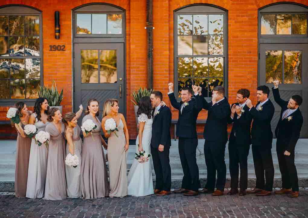 blush downtown tampa wedding