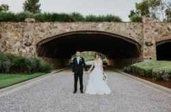 Glam and Gold Bella Collina Wedding