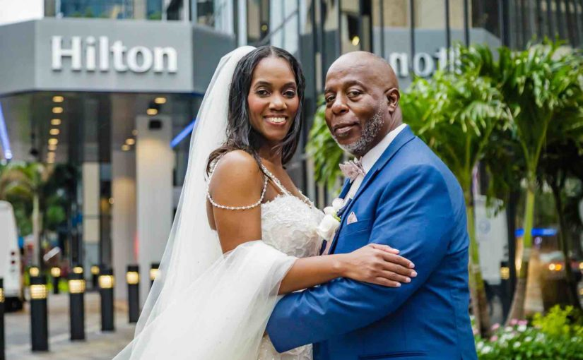 Intimate Downtown Tampa Hilton Wedding