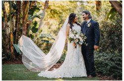 Charming Tampa Garden Club Wedding