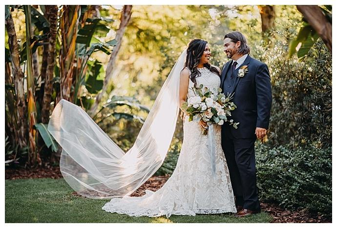 Charming Tampa Garden Club Wedding