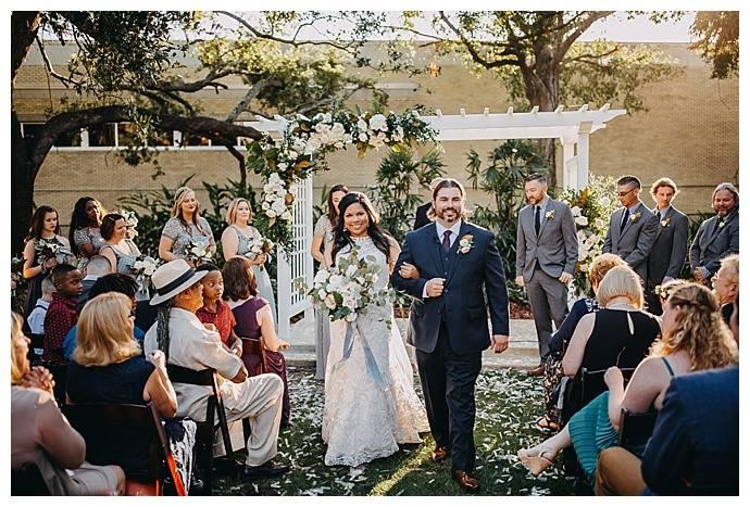 Charming Tampa Garden Club Wedding A Chair Affair Inc