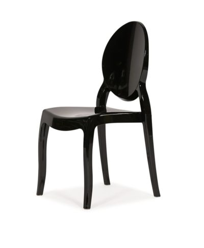 Black Ghost Chair – A Chair Affair Rental