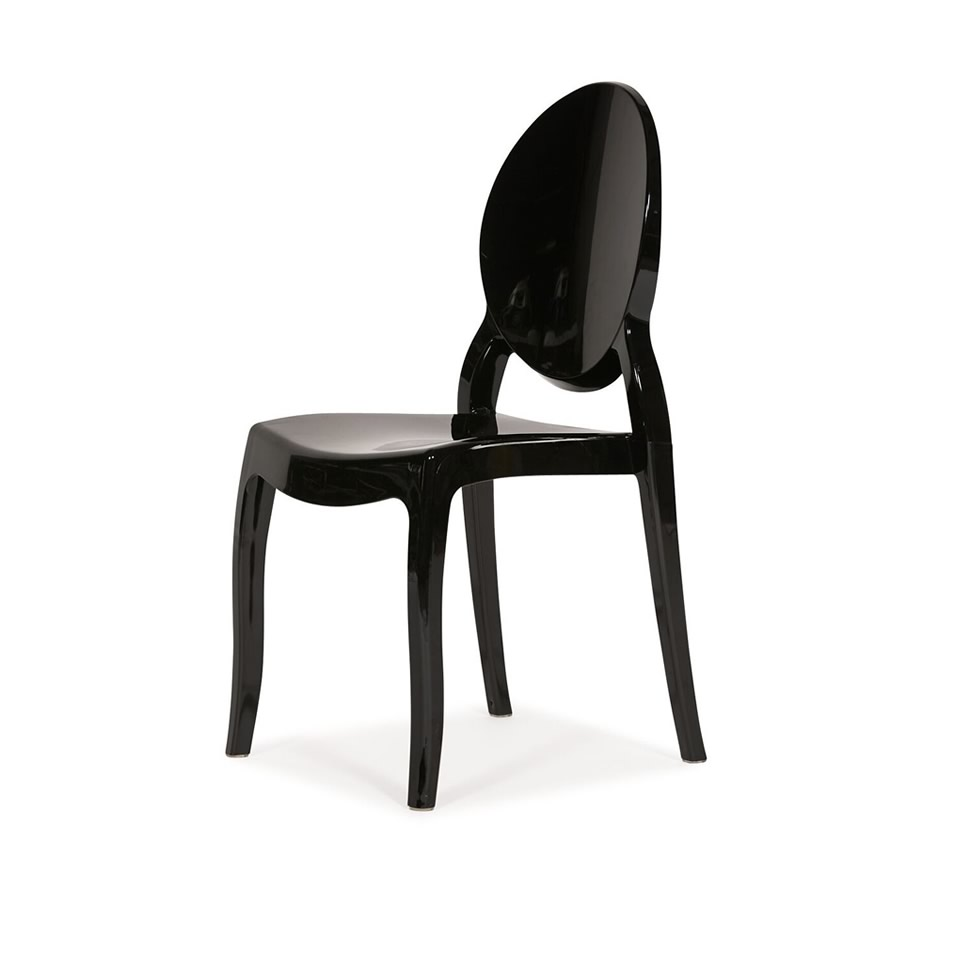 Black Ghost Chair - A Chair Affair Rental