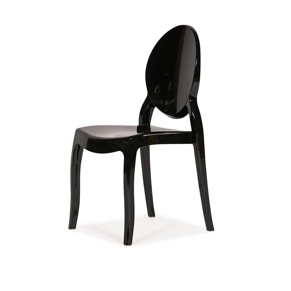 Black Ghost Chair - A Chair Affair Rental