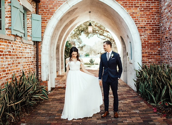 Casa-Feliz-Wedding-A-Chair-Affair-Bride-and-Groom-first-look