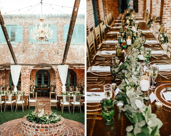 Casa Feliz Wedding, A Chair Affair, Farm Tables, Chiavari chairs, Farm tables