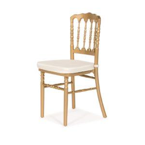 Gold Napoleon Chair - A Chair Affair Rentals