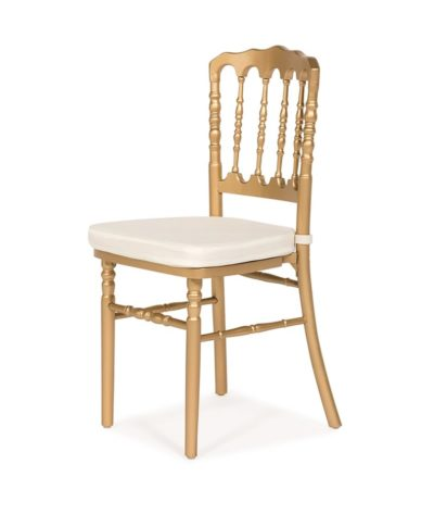 Gold Napoleon Chair – A Chair Affair Rentals